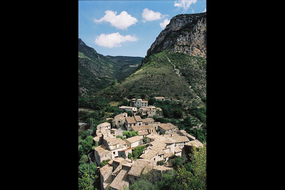 Le merveilleux petit village de Saint-May dans les Baronnies