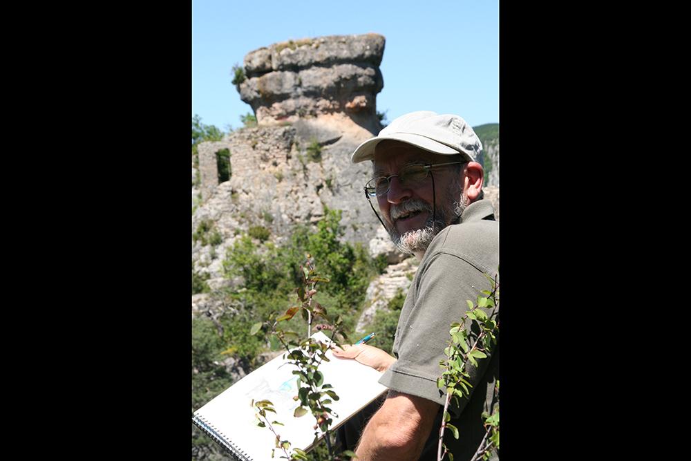 Alain, the watercolorist philosopher and poet.