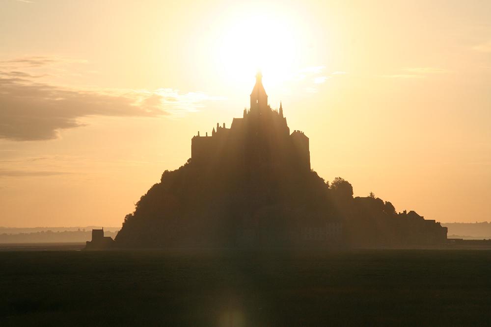 The real Mont Saint-Michel