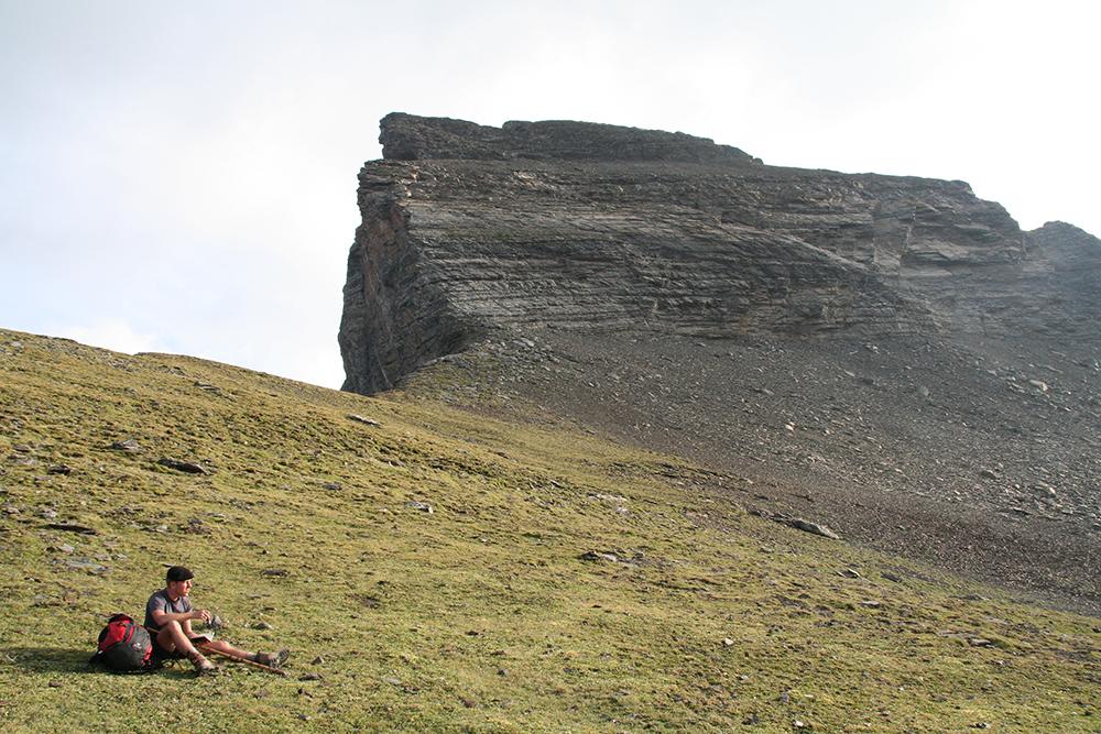 L'un des jeunes chanteurs va écrire à plus de 3 000 mètres d'altitude