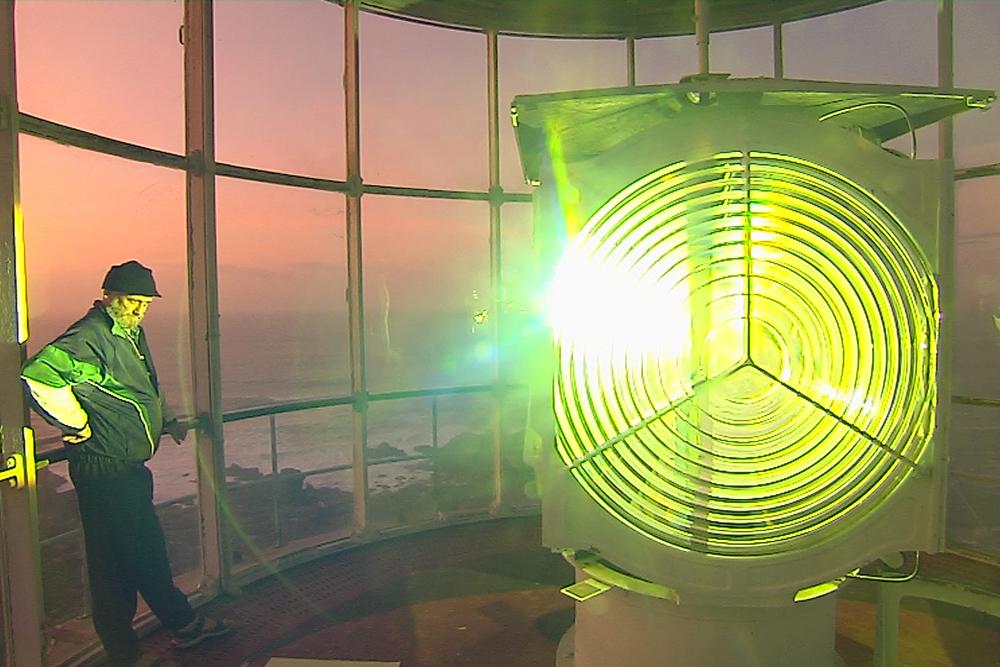 Allumage du phare
