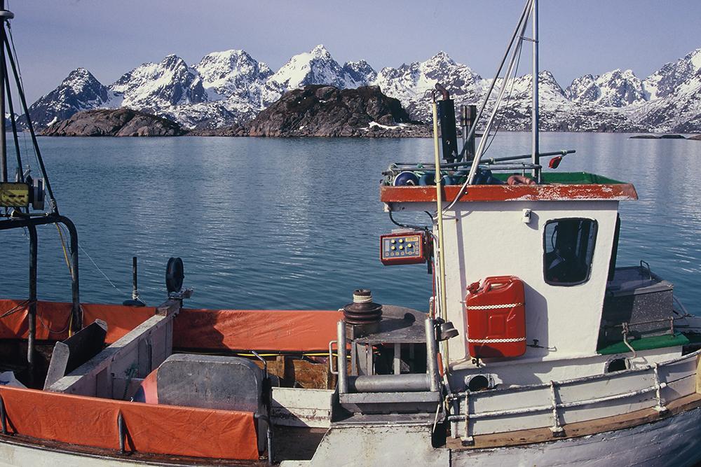 Lofoten fishing boat