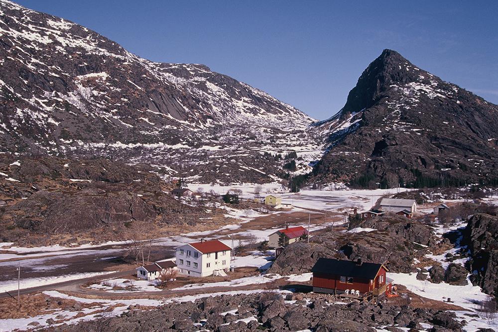 Le village de Gunnar et sa famille.