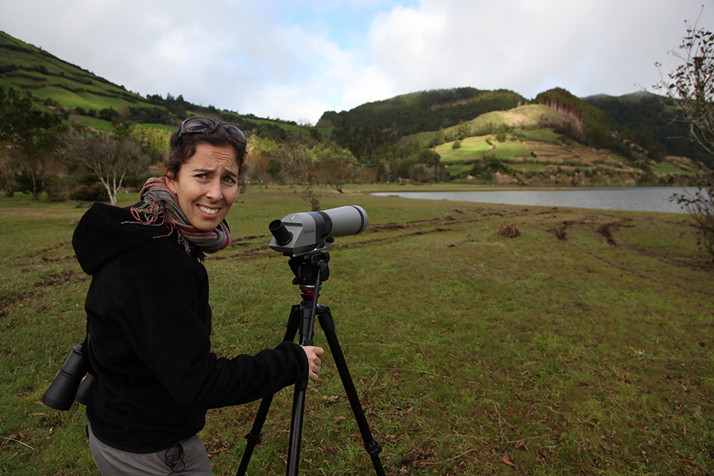 Carolina Ferraz, ornithologist
